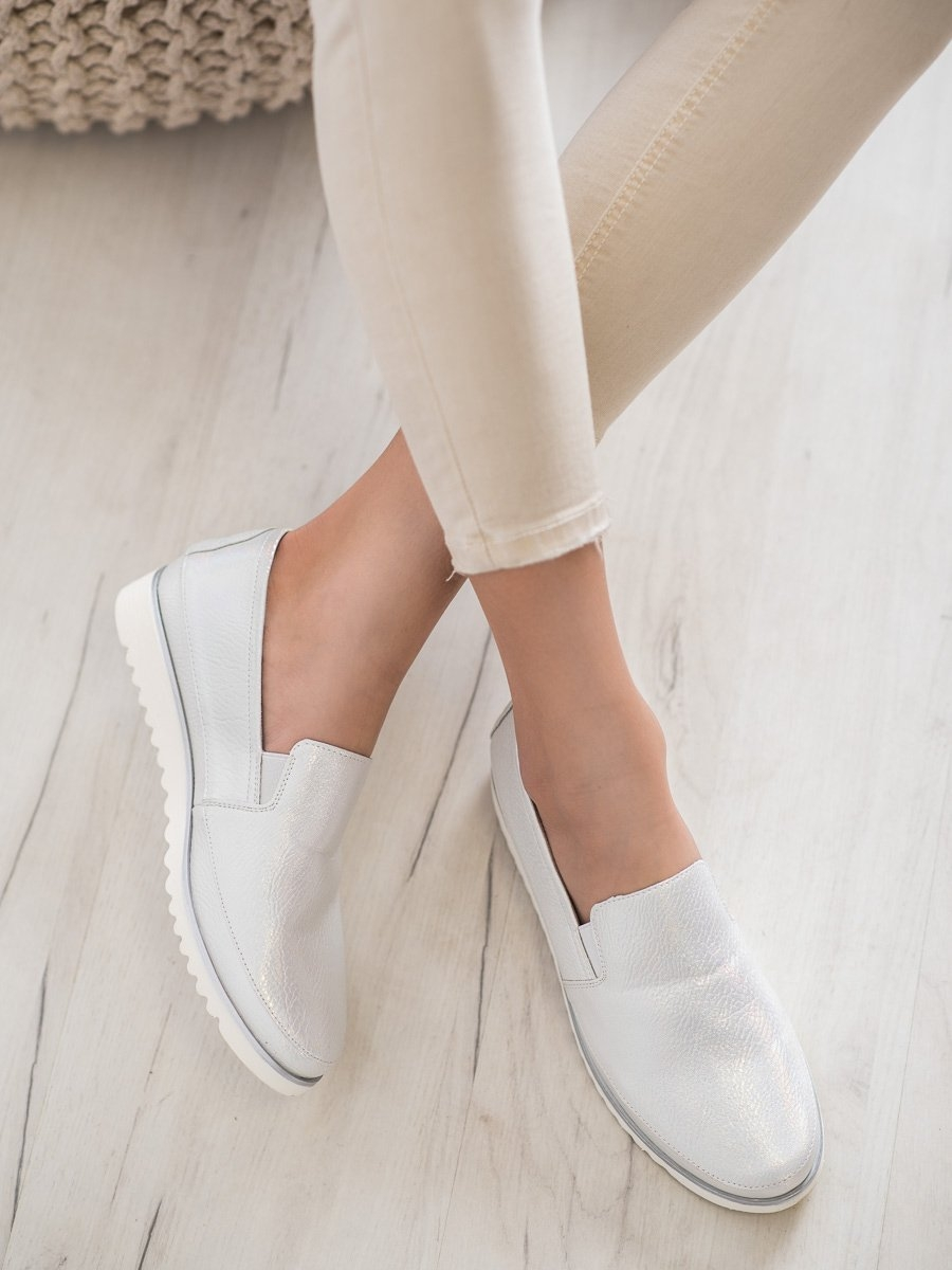 SERGIO LEONE szürke színű cipő
