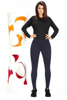 Női sportos leggings Cosmic blue