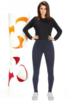 Női sportos leggings Imagin blue