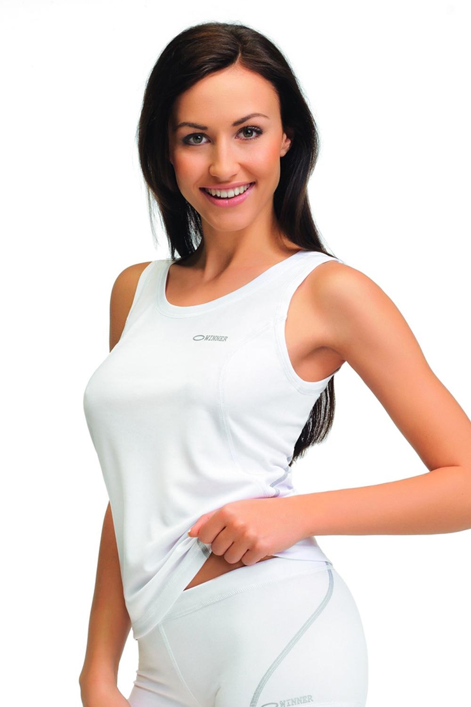 64aa439809 Női sportos trikók Classic X white | AMIATEX.hu